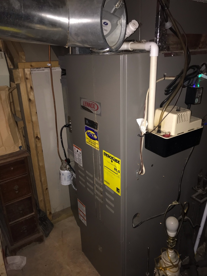 Perryville, MD - Lennox oil furnace cleaning