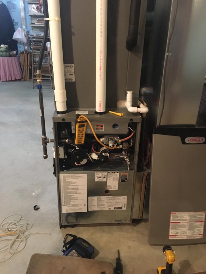 Port Deposit, MD - Replace control board Lennox gas furnace repair no heat LP propane