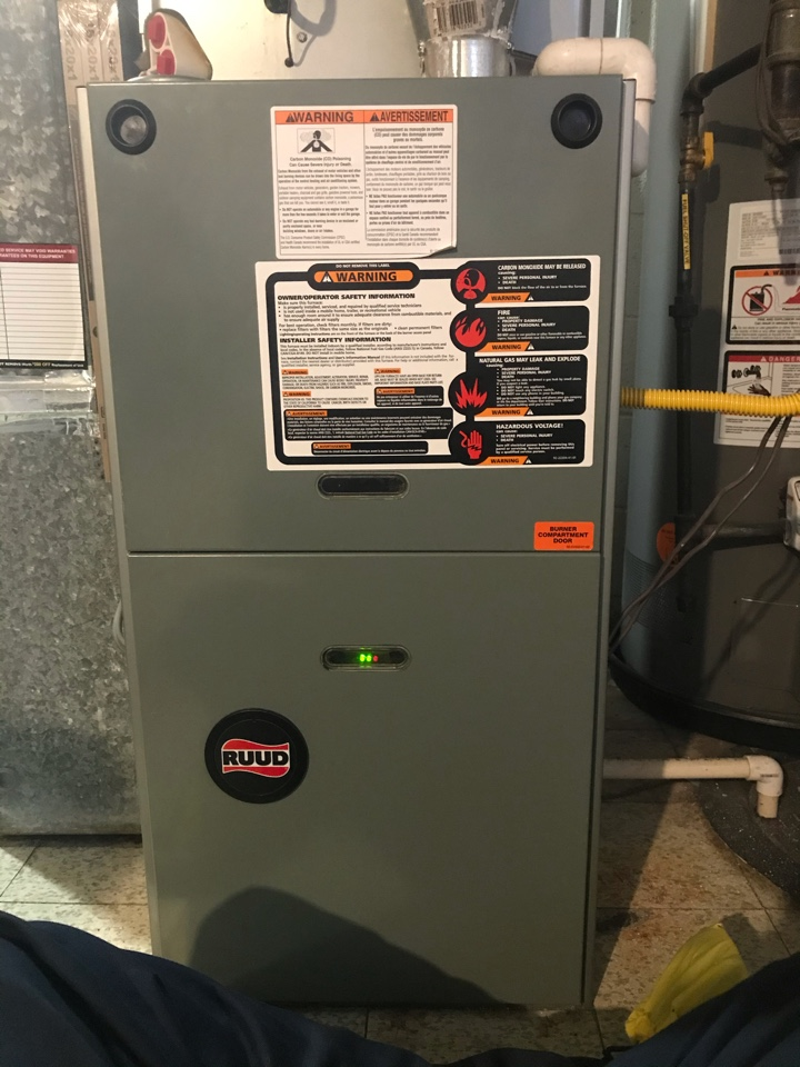Towson, MD - Rudd gas furnace maintenance