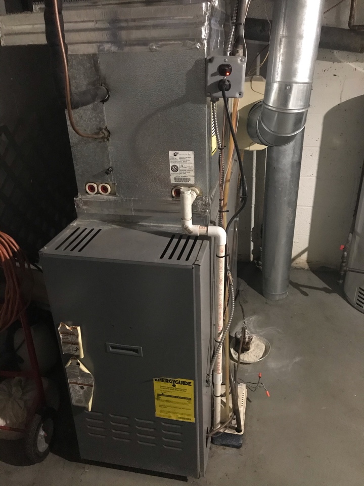 Baltimore, MD - Armstrong oil furnace cleaning