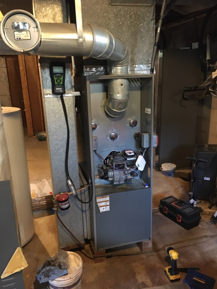 Charlestown, MD - Diagnose oil burner issue Armstrong Air Oil furnace troubleshoot