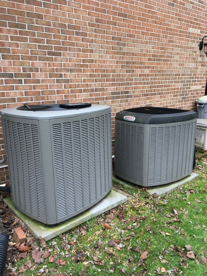 Kingsville, MD - Preventive maintenance on Lennox heat pump tune up Level Home Services