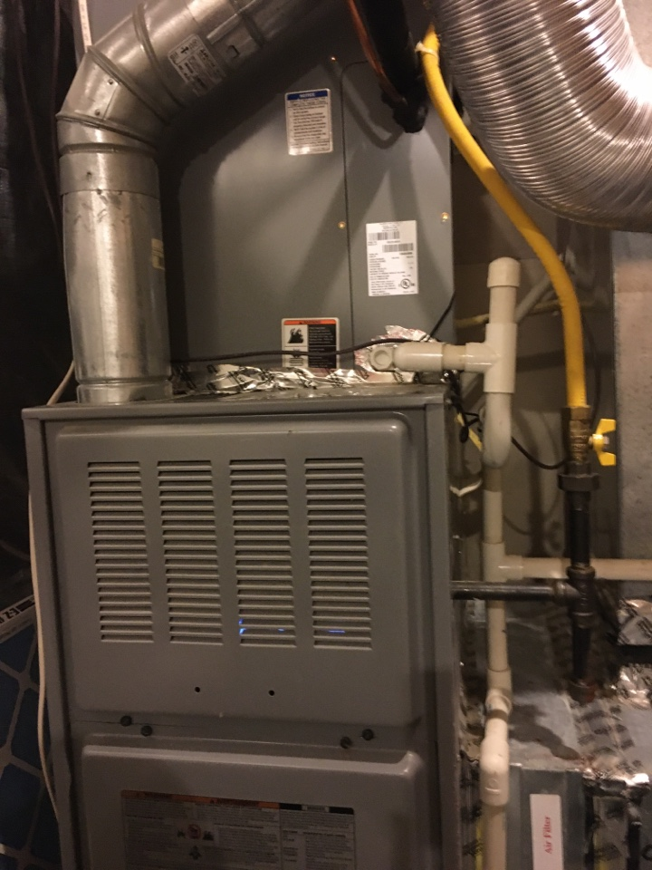 Havre de Grace, MD - Preventive maintenance on ICP gas furnace tune up