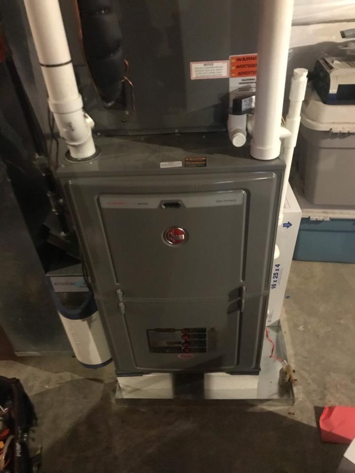 North East, MD - Furnace maintenance