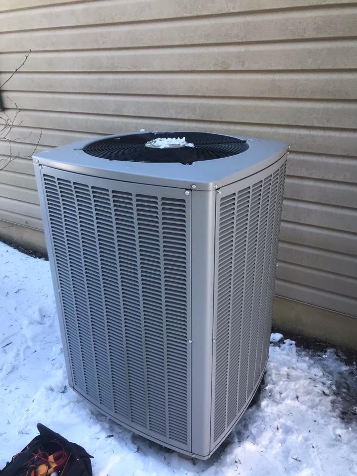 Port Deposit, MD - Armstrong heat pump service