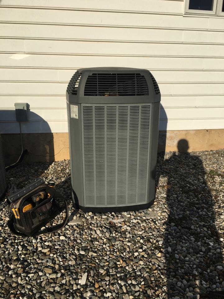 Elkton, MD - Replace blower motor Trane heat pump r22