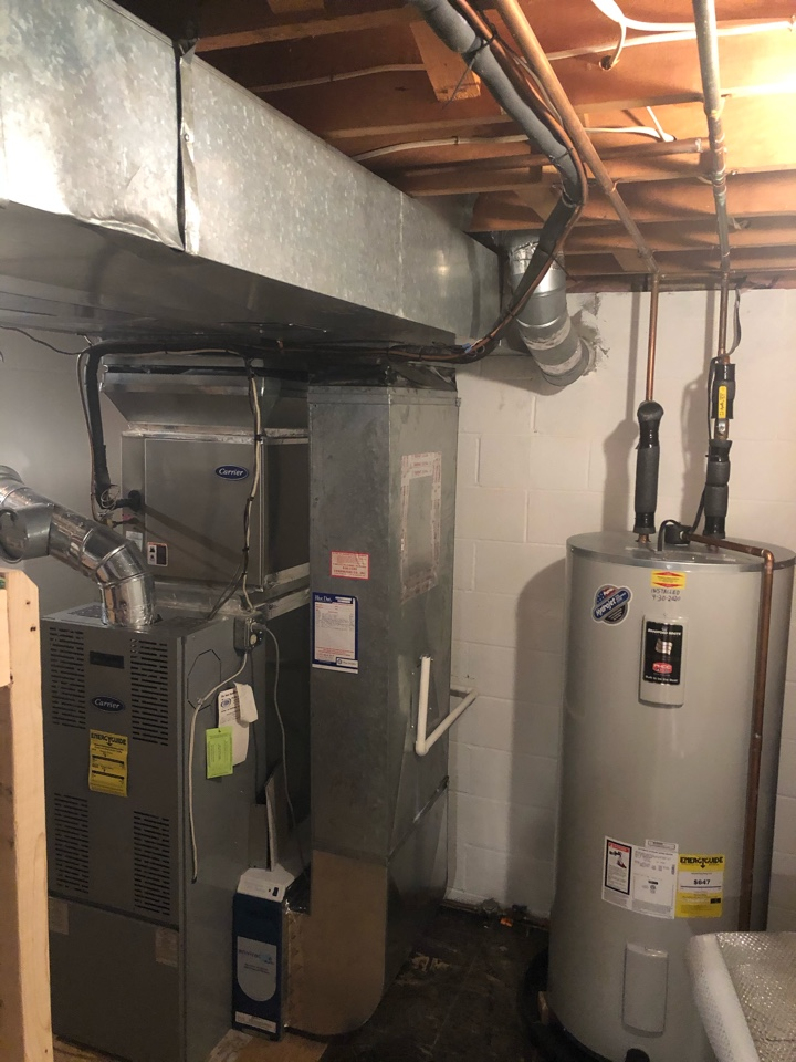 Fallston, MD - Ductwork repair oil furnace tuneup maintenance