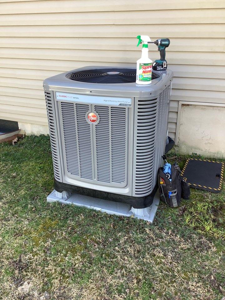 Belcamp, MD - Heat pump tune up