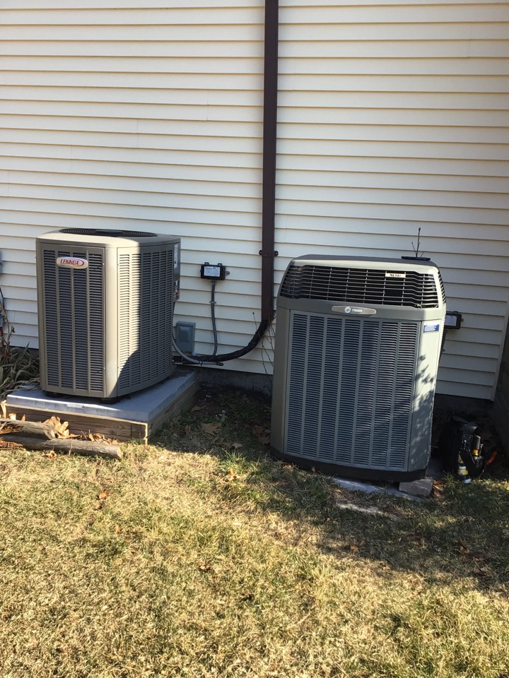 Forest Hill, MD - Preventive maintenance on 2 heat pumps