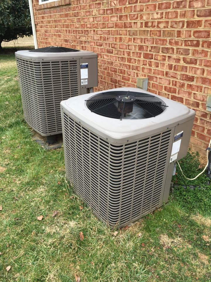 Street, MD - Preventative maintenance on York air conditioners.
