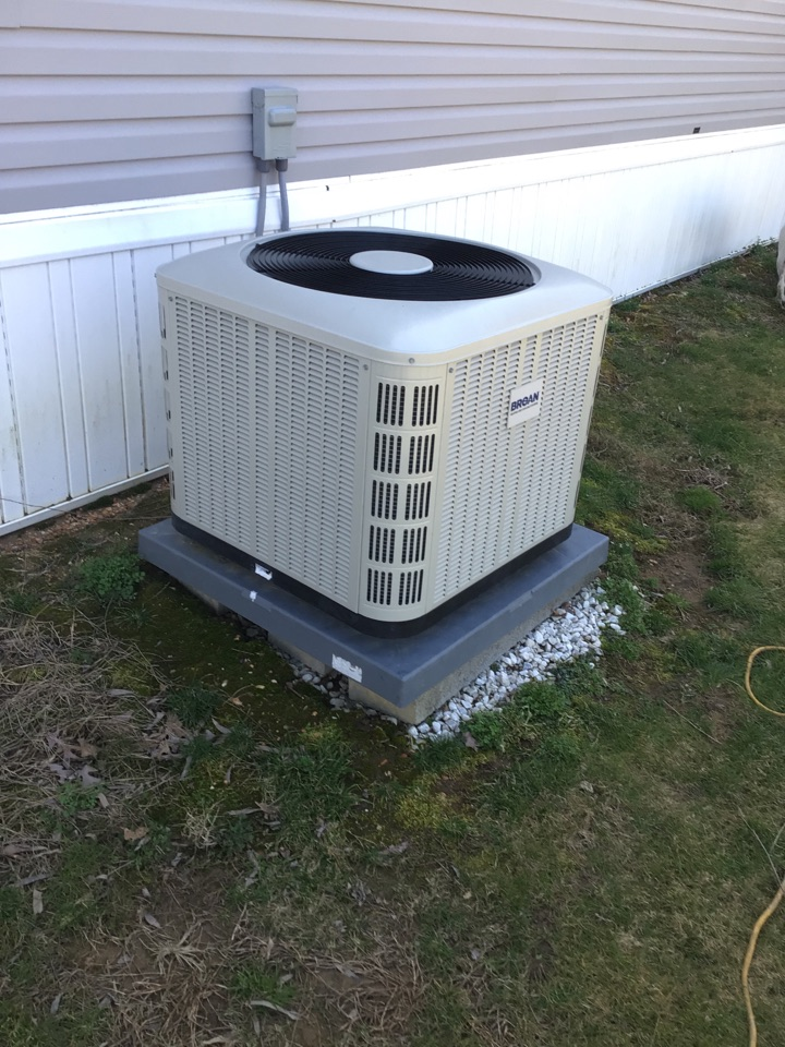Port Deposit, MD - Preventive maintenance on an broan air conditioner