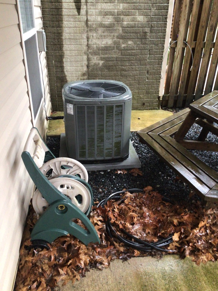 Forest Hill, MD - Yearly service on a trane air conditioner.
