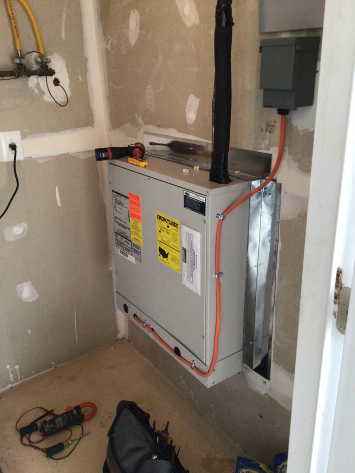 Edgewood, MD - Preventive maintenance on a first company air conditioner