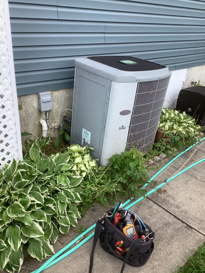 Baltimore, MD - Service a air conditioner. Tune up a carrier unit