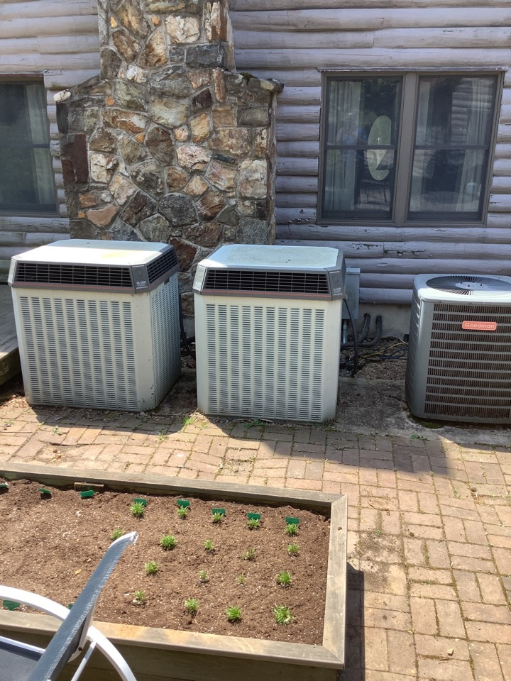 Elkton, MD - Service a Trane air conditioner. Maintenance a air conditioner system