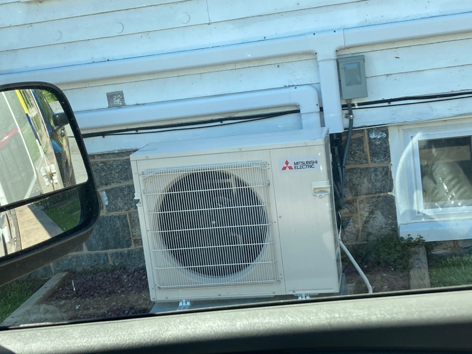 Perryville, MD - Ductless mold growth blower wheel