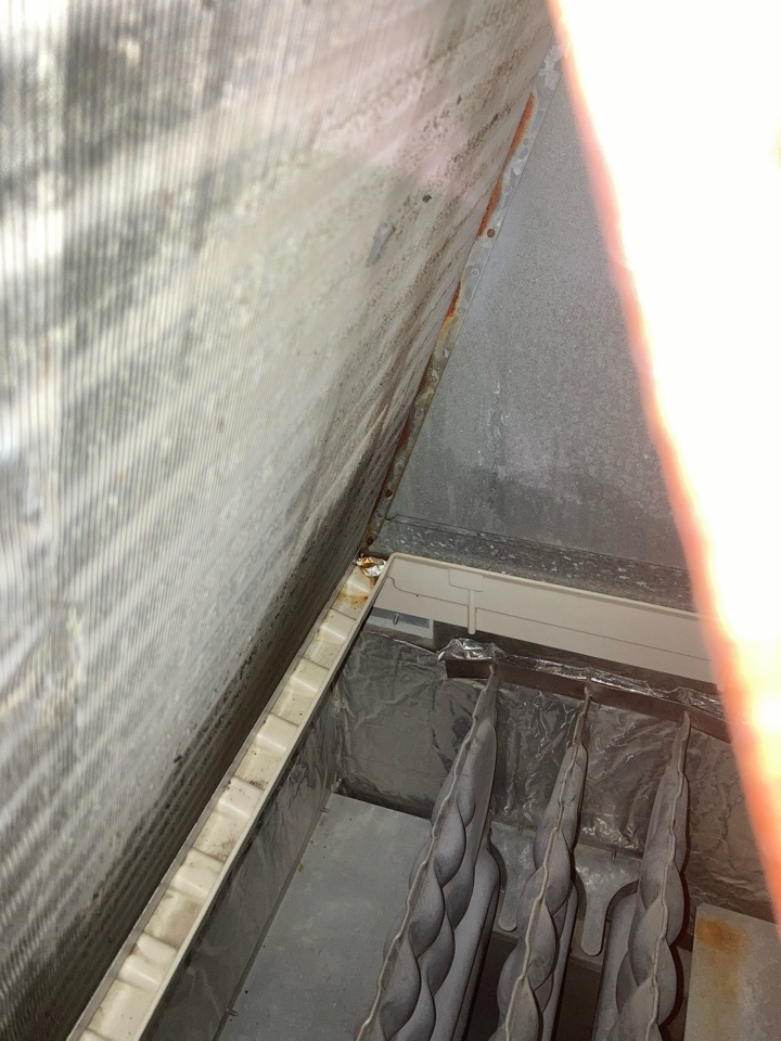 Abingdon, MD - No cooling ICP AC unit evaporator leak R410A