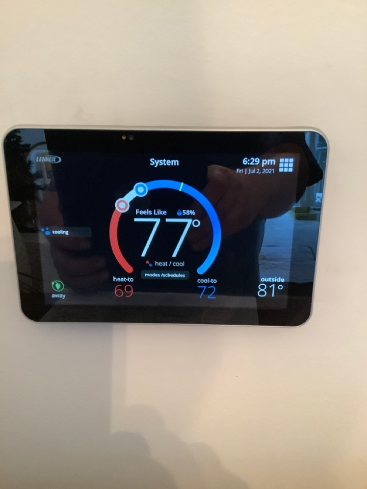 Nottingham, MD - Thermostat replacement