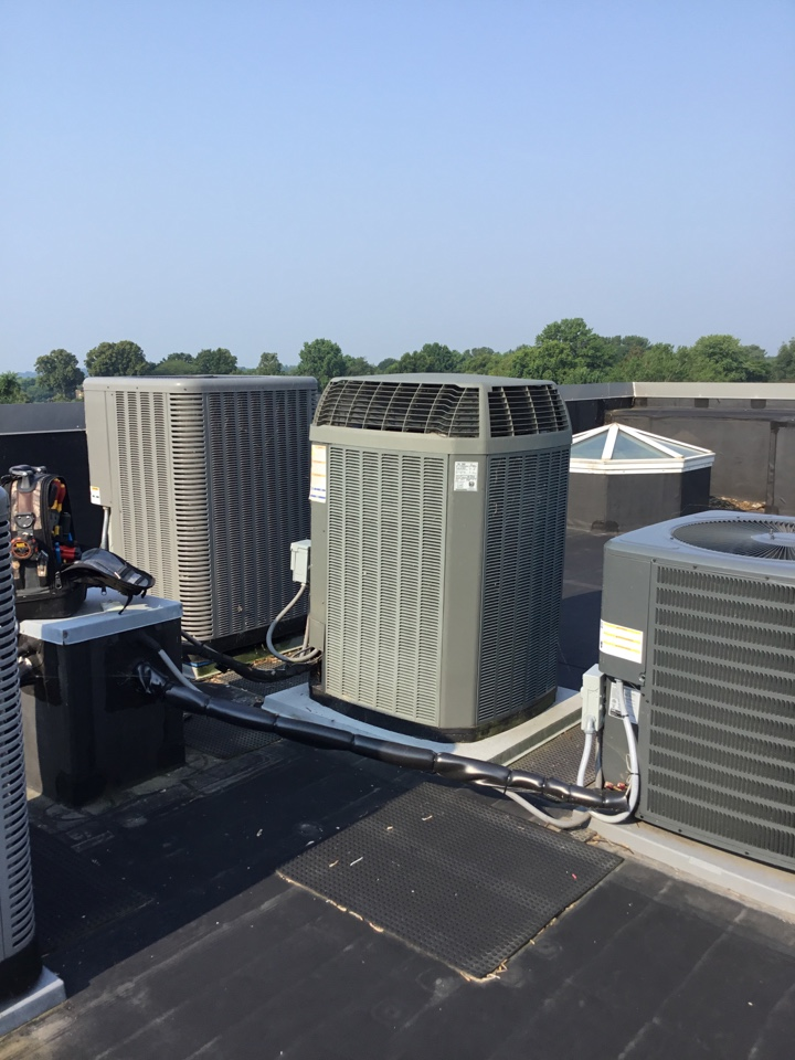 Havre de Grace, MD - Preventive maintenance on trane ac tune up