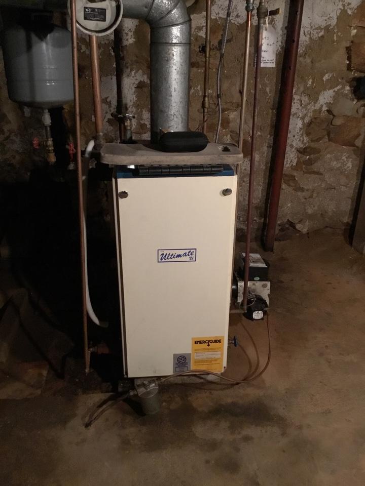 Rising Sun, MD - No hot water intimate boiler