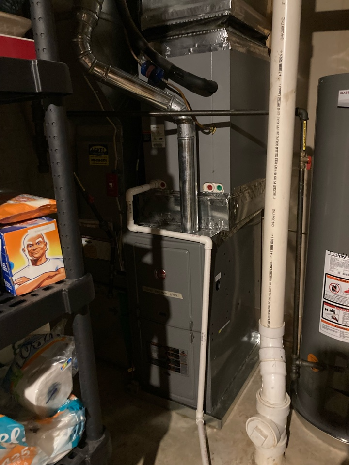 Abingdon, MD - Preventive maintenance on Goodman ac tune up