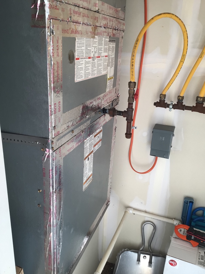 Bel Air, MD - Preventive maintenance on a package ac