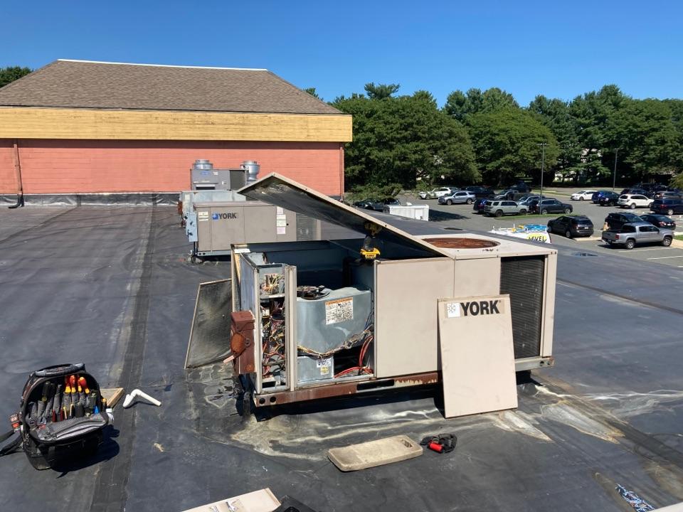 Bel Air, MD - Condensate leak York RTU AC Level Home Services