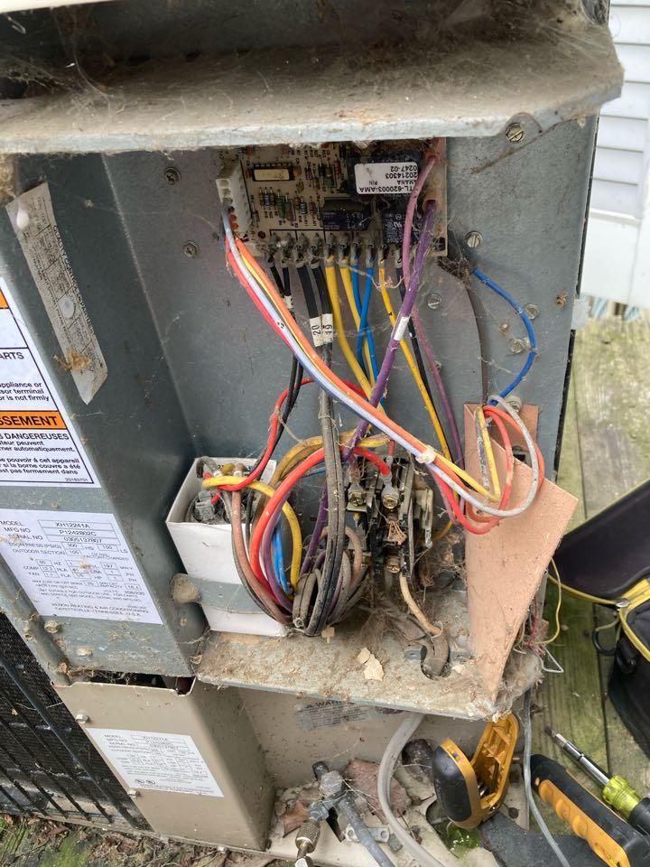 Havre de Grace, MD - Maintenance on Goodman heat pump