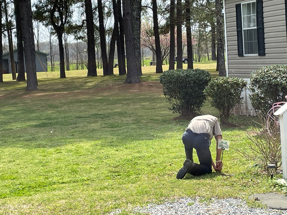 Pike Road, AL - Weed control and fertilization. Montgomery, AL target Exterminating and Lawn Care