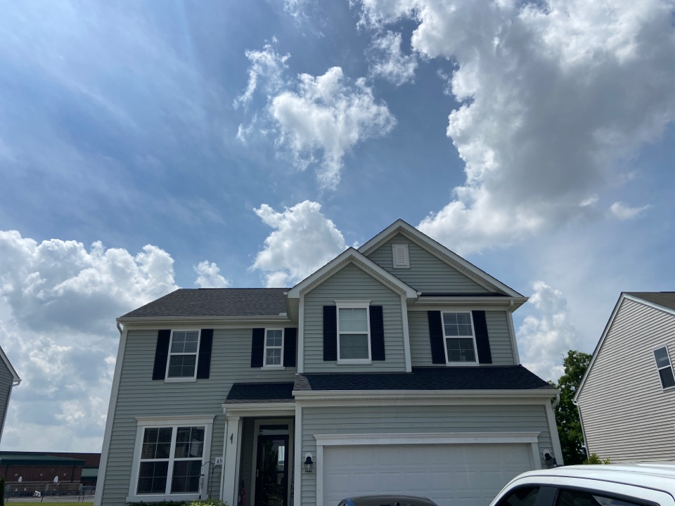 Marysville, OH - Another satisfied customer with a new roof