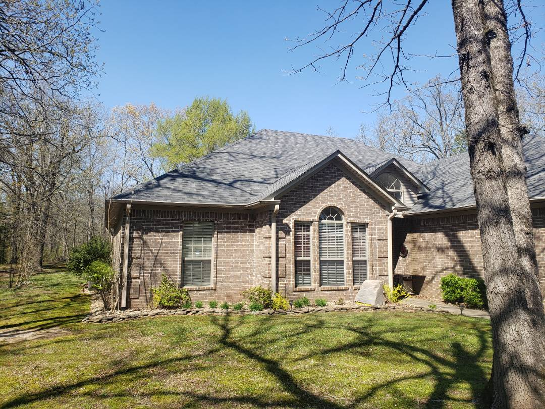 Conway, AR - Full Roof replacement from Hail Damage. Malarkey Storm Gray