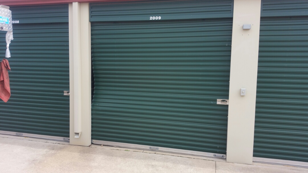 Manor, TX - Repaired two commercial rolling sheet doors in manor texas today.
