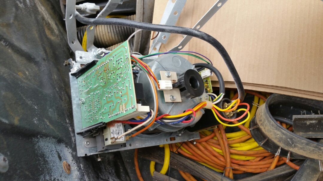 Austin, TX - Replaced an old genie garage door opener with a new liftmaster belt drive opener.
