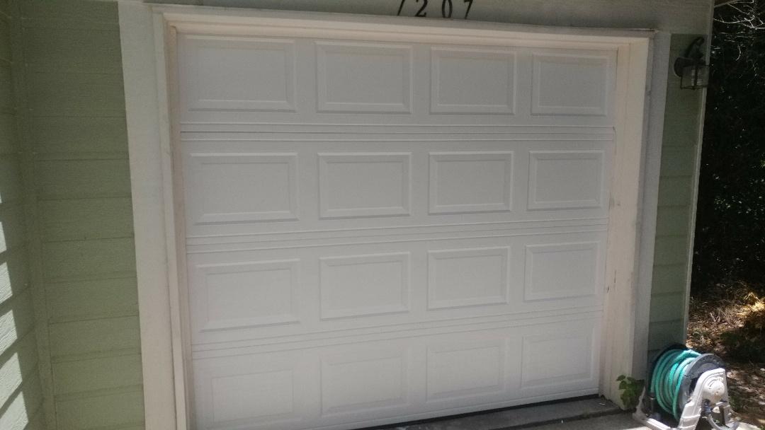 Austin, TX - Installed new 8 by 7 garage door bluff springs