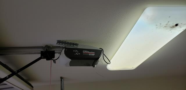 Pflugerville, TX - Installed a Liftmaster with wifi, rollers and end bearing plates in Pflugerville, Texas.
