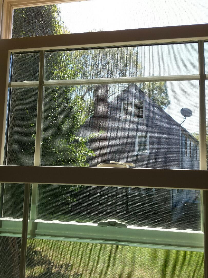 Plymouth, MA - Renewal by Andersen of Boston fixing a window