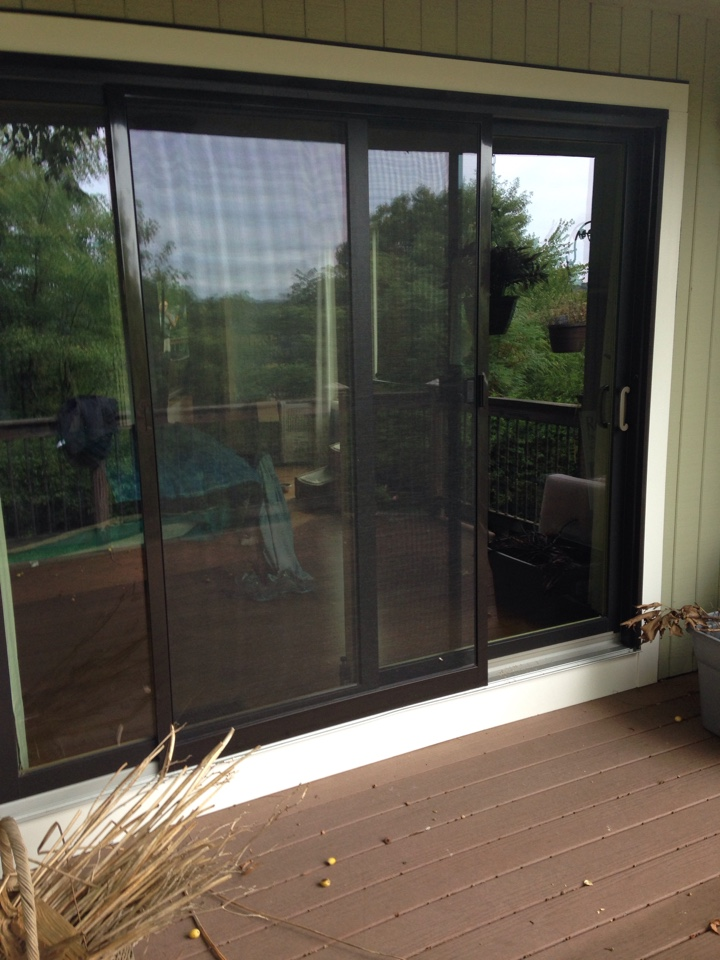 Worcester, MA - Renewal by Andersen Boston replacing patio door panel