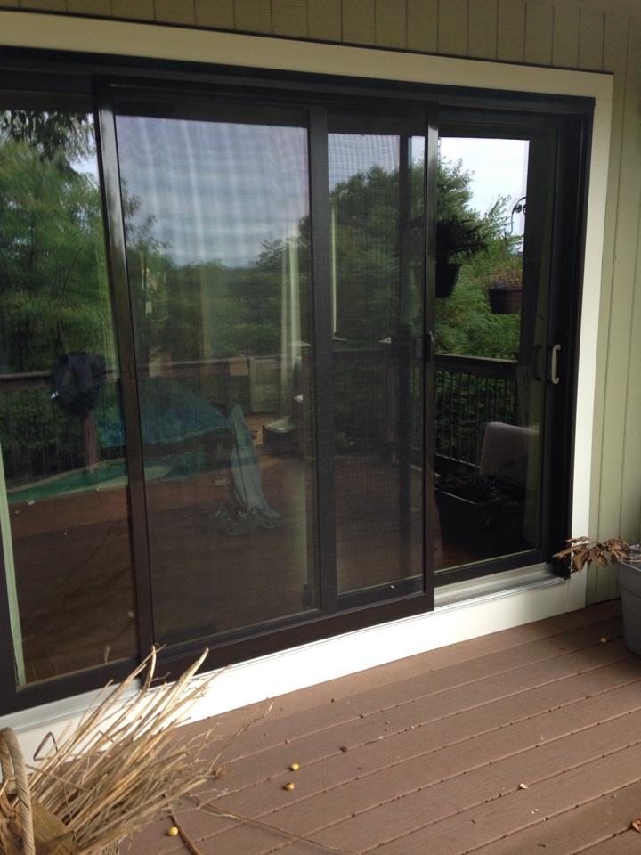 Worcester, MA - Renewal by Andersen Boston replacing patio door panel