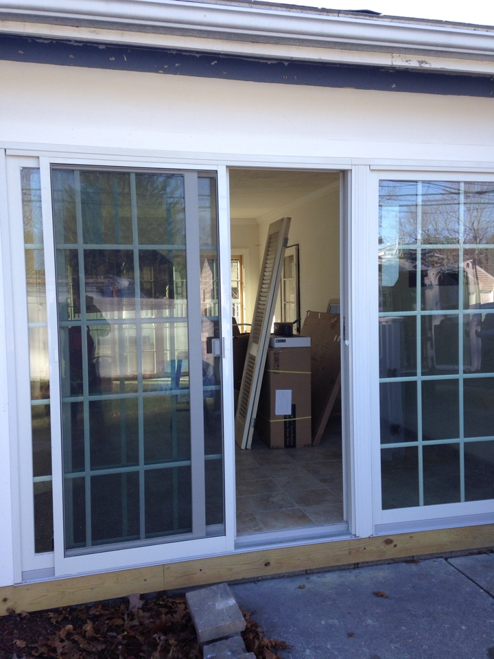 Framingham, MA - Renewal by Andersen Boston adjusting patio door