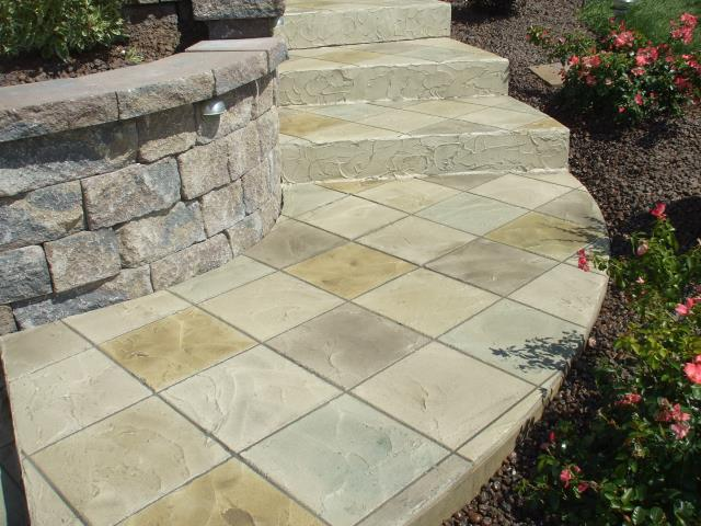 Apopka, FL - Tired of that dull, repetitive, cracked concrete sidewalk look? Restore and revamp with the Venetian Tile system!! Give your home's exterior landscape a unique look with a new side-walk!!! Contact us today for more information!!!