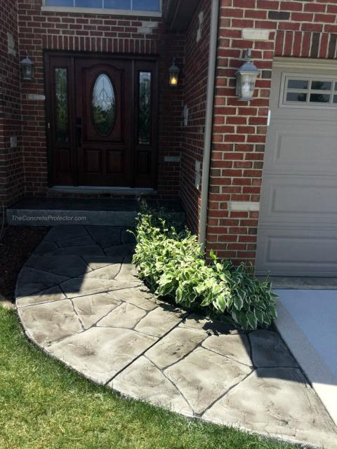 Tampa, FL - Grand Flagstone is a perfect system to remodel your sidewalk with! Create authentic stone designs at an affordable price you will love!! Stunning and durable, meeting all your needs in exterior decorative concrete! Call today to start your remodel process!