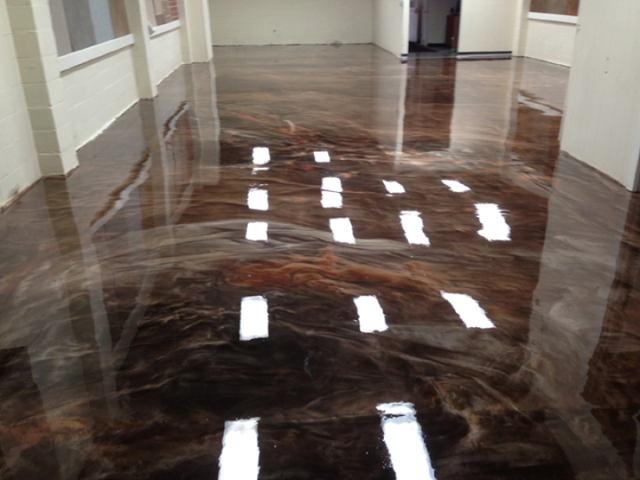 Gainesville, FL - Looking to create a beautiful elegant floor look for your business? Metallic Marble is perfect for any home or commercial building! Choose any color and let us create a MARBLEous floor for you!!!