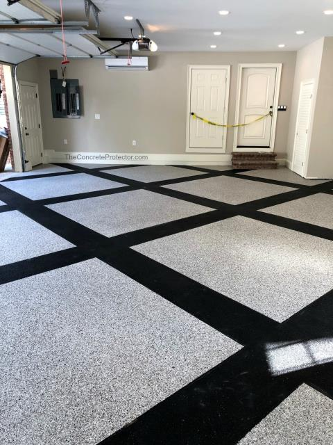 Winter Park, FL - This floor is amazing! I've never seen something quite like it! The entire room is beautifully done, and I couldn't be more pleased with the quality and look! If anyone is looking to decorate a floor, inside the house or garage or even outside the house, give GulfCoast Artistic Concrete a try!