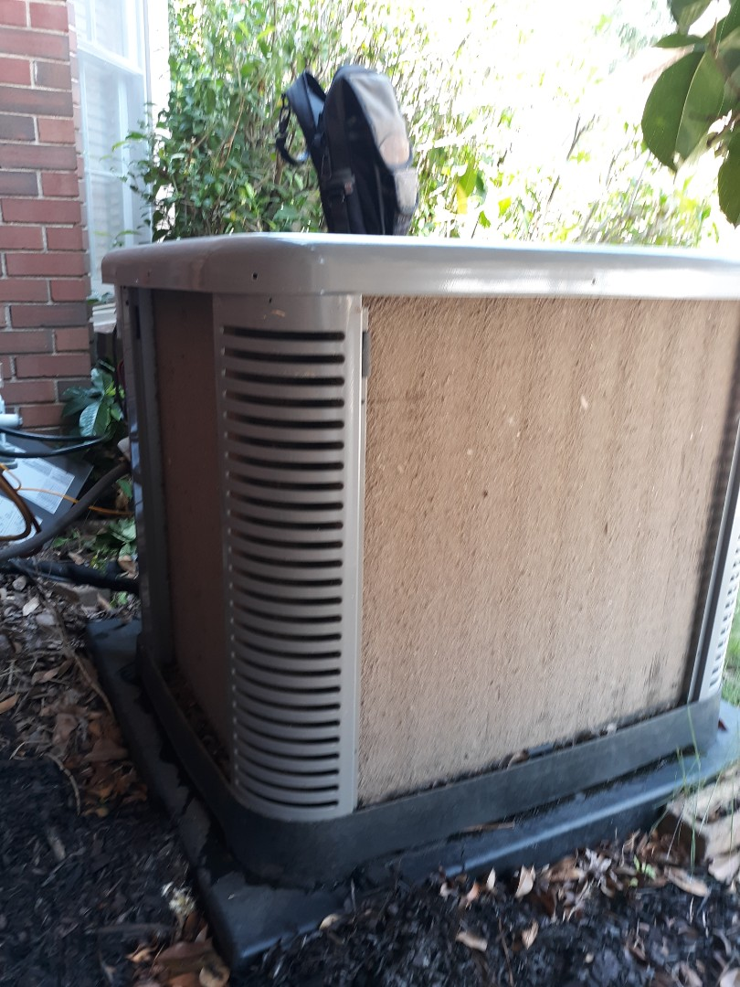 Columbus, GA - Ac not cooling like it should. Ruud air conditioner service. Clean outdoor unit.  Maintenance