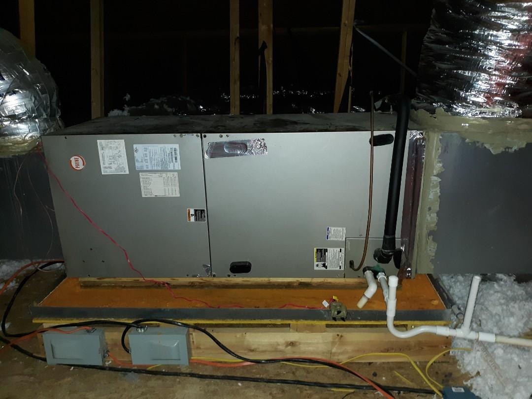 Smiths Station, AL - Ac leaking water.  Carrier air conditioner repair. Drain repair. Replace capacitor. Compressor repair.
