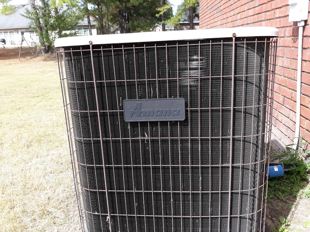 Phenix City, AL - Amana heating and cooling system. Safety inspection.