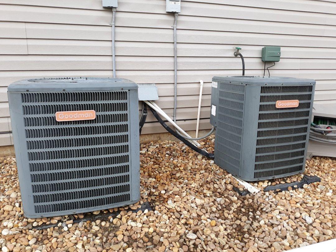 Fort Mitchell, AL - Unit not heating. Goodman heater repair.