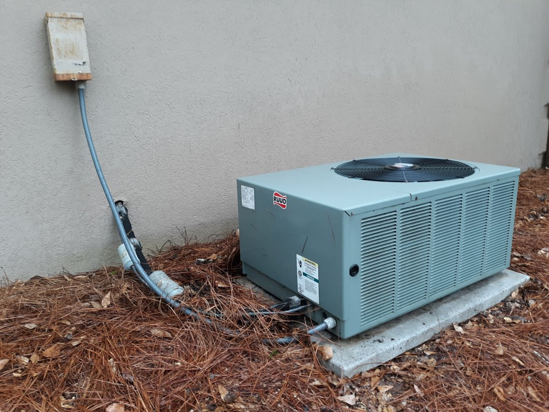 Phenix City, AL - Tune up and ac maintenance.  Ruud air conditioner and heater.