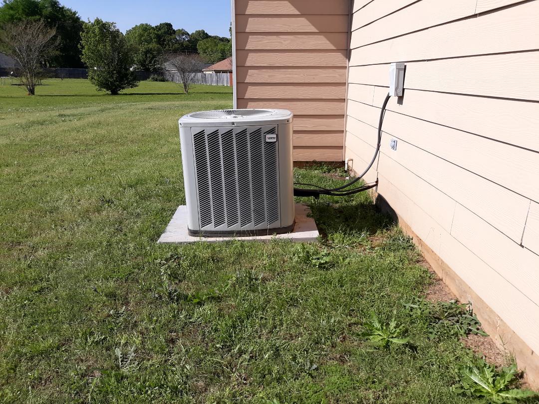Salem, AL - Goodman air conditioning system repair.  Add freon.