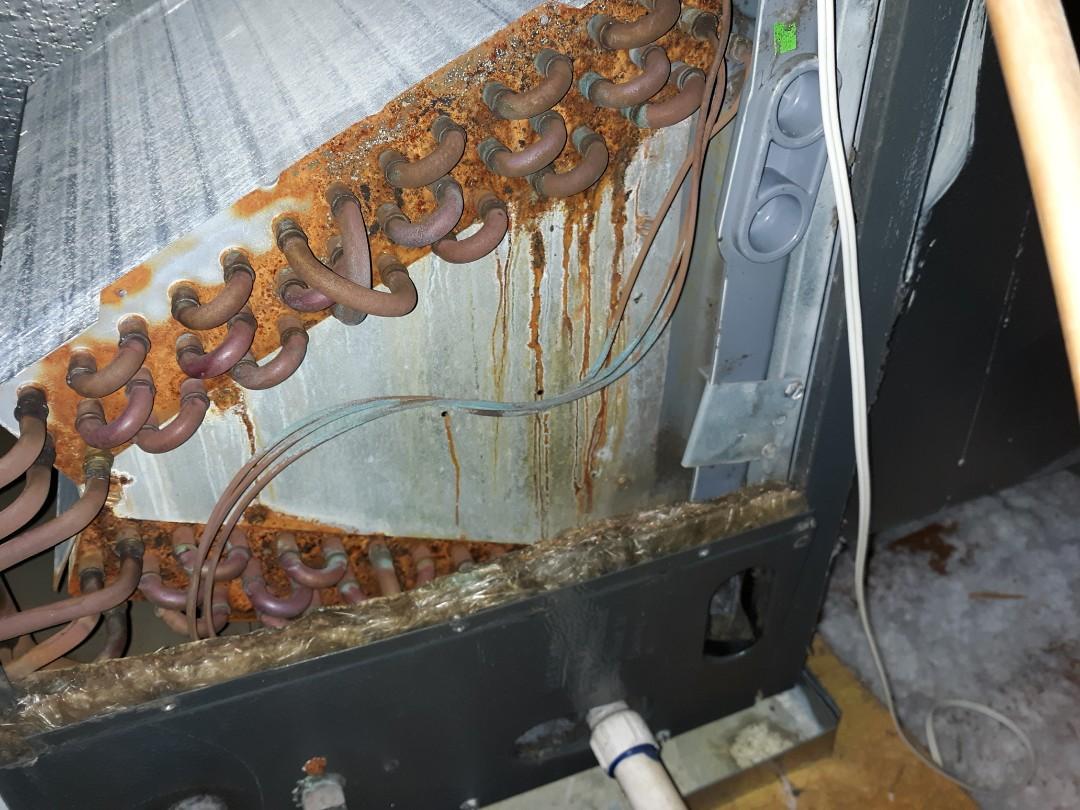 Phenix City, AL - Refrigerant leak.  Goodman ac repair.